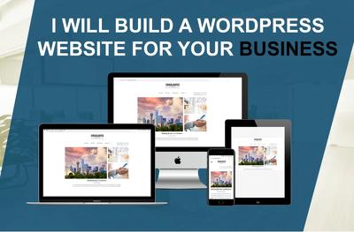 Design and build your custom WordPress website