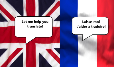 Manually translate English  French, 500 words, in 24h