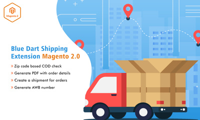 Give Magento 2 Bluedart Extension for Shipping
