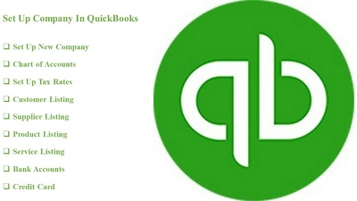 Set Up New Company In QuickBooks