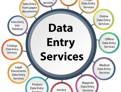 Provide 1 hour of any type of data entry services