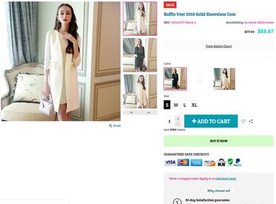 Make e-commerce website