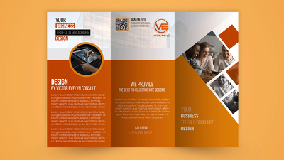 Design a Brochure for you with 24 hours delivery