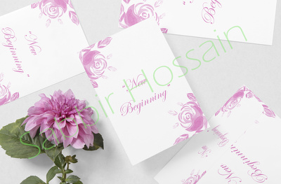 Christmas/greeting/invitation/birthday card