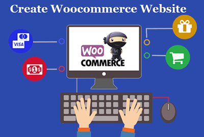 Create eCommerce website using Woocommerce in WordPress.