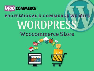 Create ecommerce online store using woocommerce wordpress