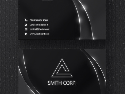 Design business card with two concepts with Unlimited Revision