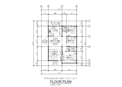 Convert your Hand Sketched Floor Plan into Autocad drawing