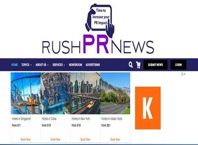 write & Publish A Guest Post on RushPRNews.com