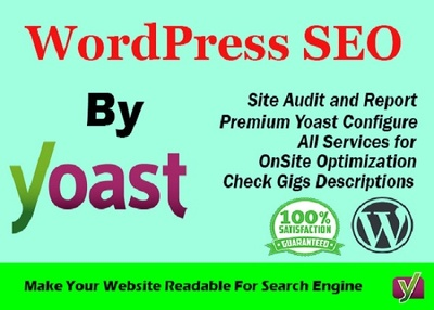 On-page SEO and technical optimization of WordPress website