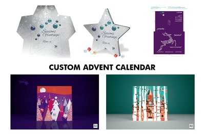 Make custom Advent calendar (Corporative, Christmas)