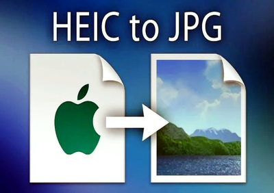 Convert apple iphone heic photos into jpg format