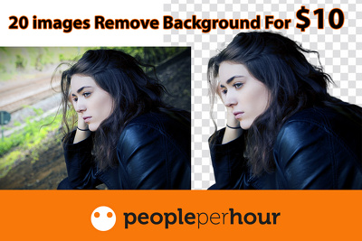 Background removal 20 images