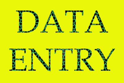 Do data entry for any other type of work for 2 hours
