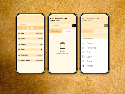 Design Mobile App UI for iOS | Android in $10/Screen