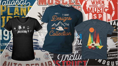 Create a custom t shirt design