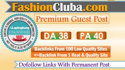 Publish A Guest Post on Fashion Site Fashioncluba.com