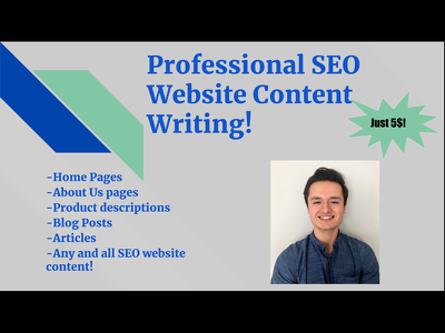 Write 500-750 word SEO Articles, Blog Posts, and website content