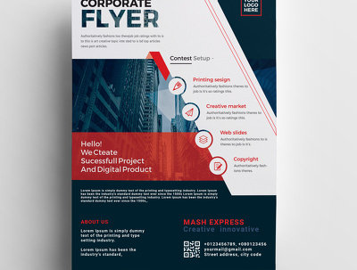 Design flyer, brochure, poster, magazine cover within 12h only