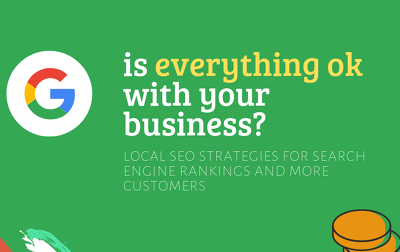 create local SEO strategy report for getting more customers