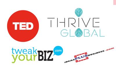 PREMIUM GUEST POST  ✔  TED ✔  Thrive Global ✔  TweakYourBiz ✔