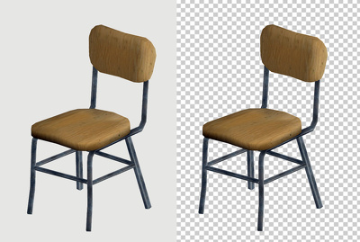 Make transparent background 20 Images by clipping path.