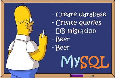 Create mysql database and queries projects
