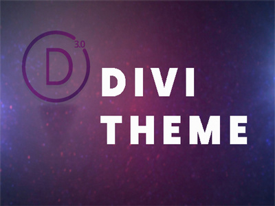 Create a fancy website for you with divi