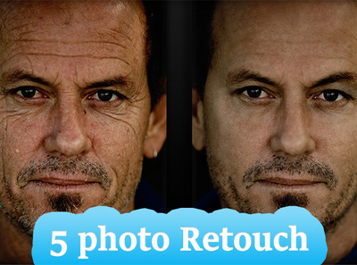Retouch Photo in Adobe Photoshop