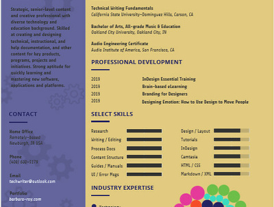 Custom-designed Resume