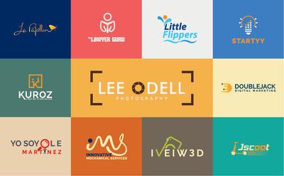 Design unique modern minimalist creative logo