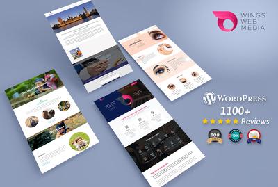 Wings Web Media's header