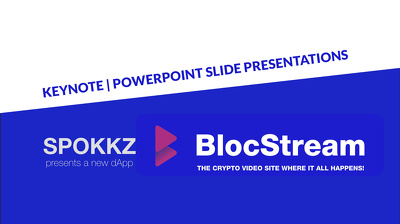 Do awesome presentations in Keynote / Powerpoint