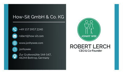 Design a professional, double sided business card with in 12 hrs