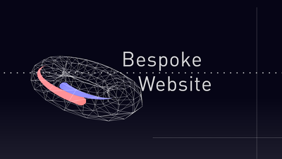 Design and develop a bespoke landing site for your brand