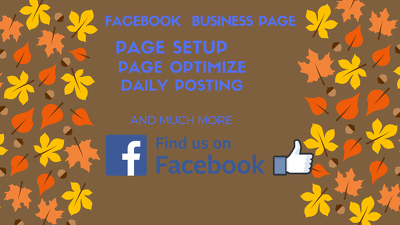 Create and optimize your Facebook business page and account