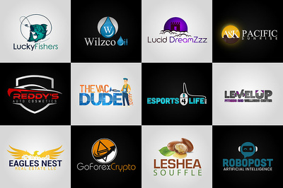 3 logo design Unlimited Revisions + Source Files