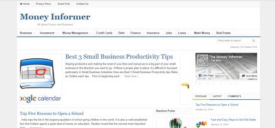 publish Guest Post on money-informer.com DA-24