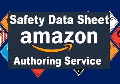 Create MSDS for Amazon sale and chemical Industries