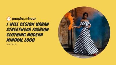 Design urban streetwear fashion clothing modern minimal logo