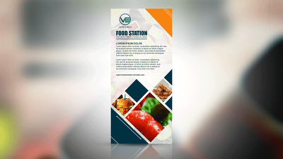 Design Food Menu Brochure for You, with 24 Hours Delivery