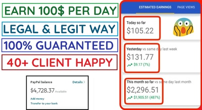 Develop android earning app earn daily 100usd