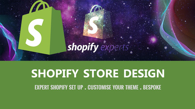 Design shopify store with shopify theme - shopify EXPERT