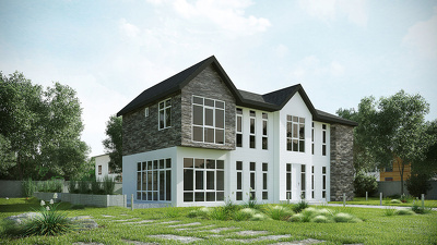Create photo-realistic architectural 3D rendering
