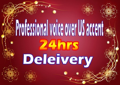 Professional Voice Over US accent and Indian voice