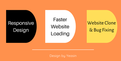 Convert any psd, create landing page using elementor pro
