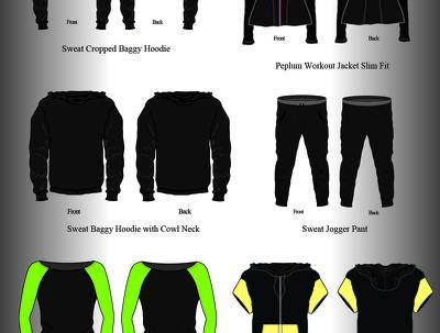 Design detailed apparel tech pack
