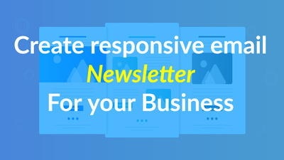 Create email marketing newsletter in 12h