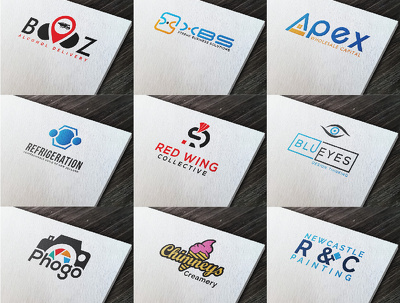 Design 2 conceptional+high quality logos with professional way