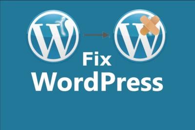 Fix problems in your wordpress website